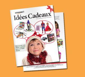 Catalogue papier Amazon Noel