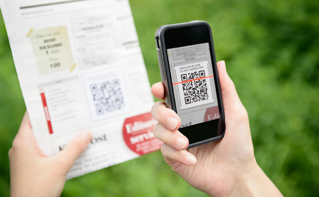 Scan QR Code - Prospectus et site mobile