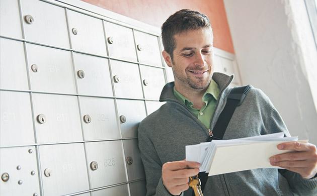 Mailing Boîte aux lettres Courrier