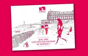 Office du Tourisme de Biarritz : l'imprimé publicitaire en boîte aux lettres, un choix qualitatif pour une opération inédite !