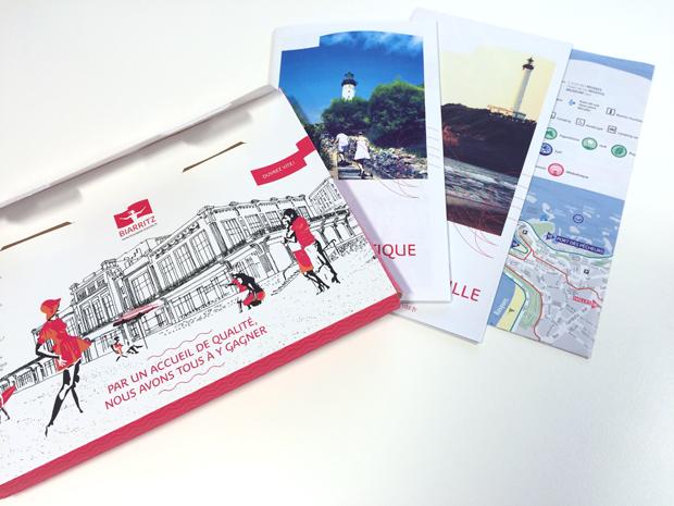 Imprime Publicitaire Boite aux Lettres Kit Accueil Tourisme