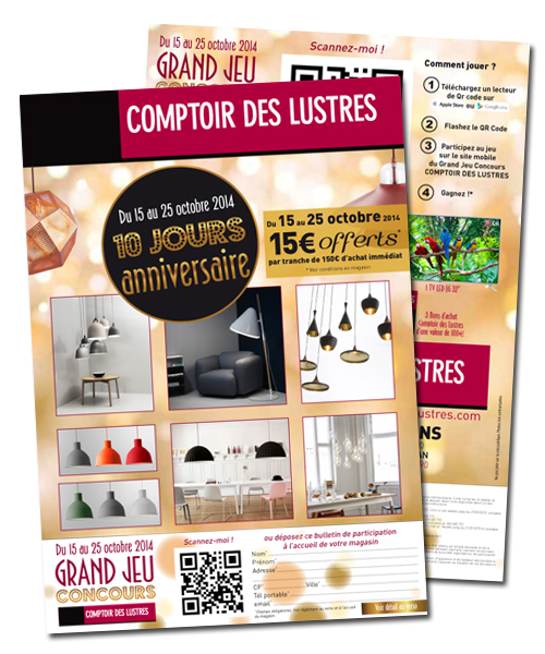 top bulletin ip comptoir des lustres with comptoir des. Black Bedroom Furniture Sets. Home Design Ideas