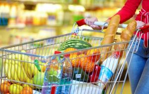 Carte de France des produits achetés en hypers et supermarchés par département