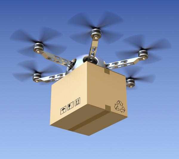 Tendences Magasins Parcours Client Futur Livraison Drone