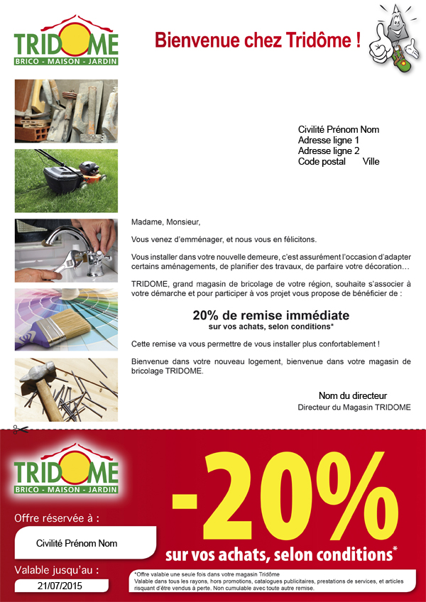 Marketing-Direct-Courrier-Adresse-Tridome