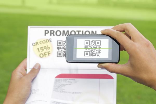 Courrier adressé 4 étapes - QR code Promotion Réduction