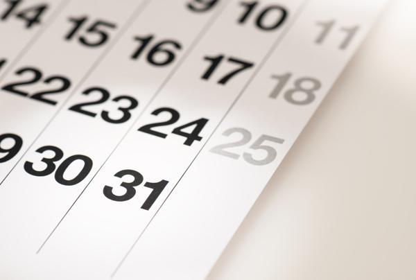 echantillon boite aux lettres campagne calendrier