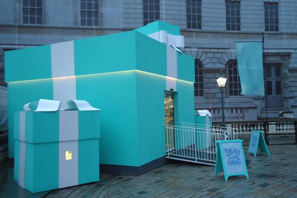 Pop-up stores Magasins ephemeres Tiffany