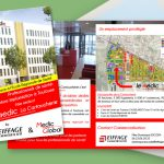Prospection B2B : flyer adressé pour Medic Global