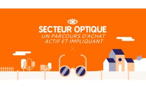 Infographie : l'optique, un parcours d'achat actif et impliquant