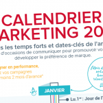 Calendrier Marketing 2018 : vos temps forts en infographie
