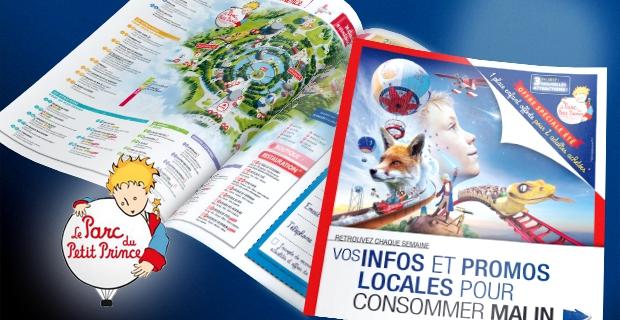 Notoriété, collecte de données et CA grâce à l'imprimé publicitaire : le cas du Parc du Petit Prince