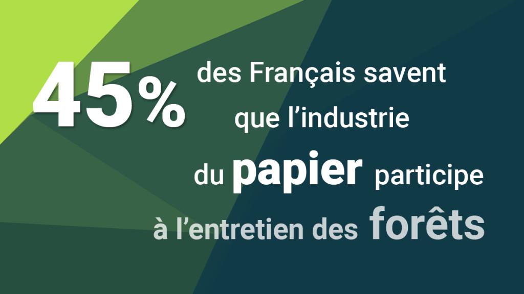 le papier participe à l'entretien des forêts