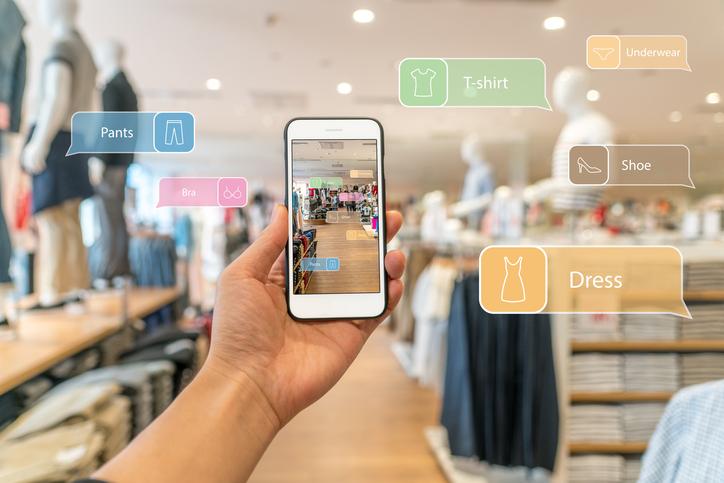 Magasin retail & phygital : digitalisation des points de vente