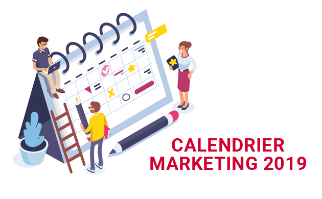 Calendrier marketing 2019 : anticipez vos campagnes de communication !